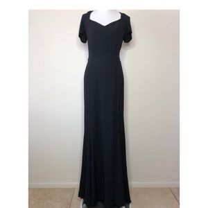 Reformation Topaz Black Dress